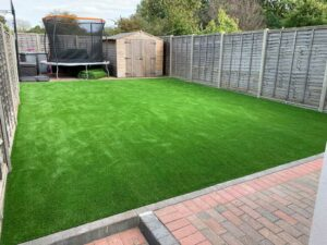 West London Artificial Grass Garden Transformation After
